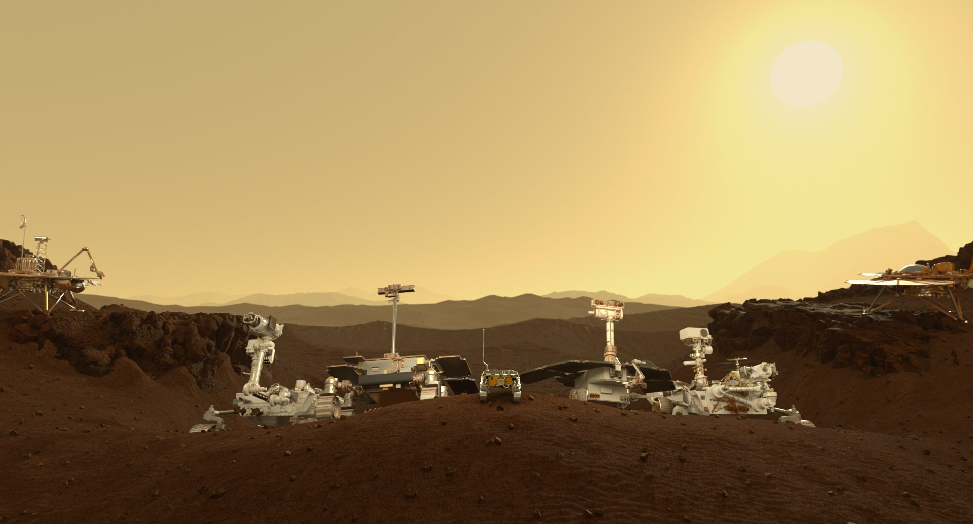 Maxon Mars - Rovers